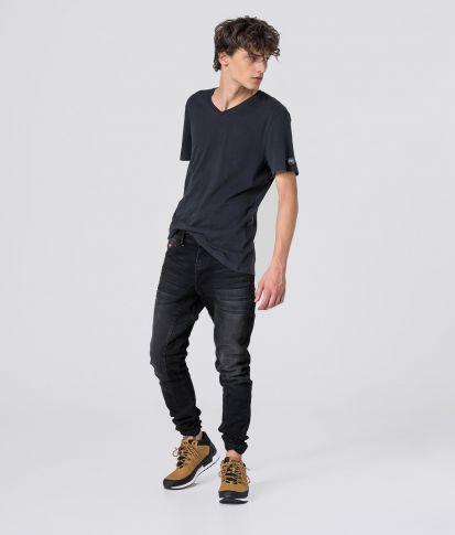COSTA V T-SHIRT, BLACK