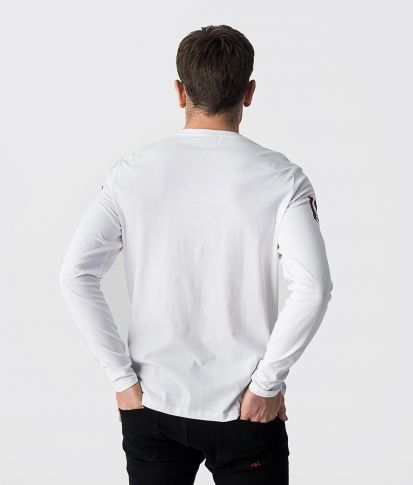 LEO LONG L.S.TOP, OFFWHITE