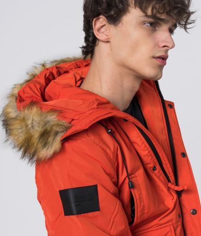 MAXEN JACKET, ORANGE