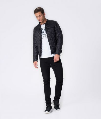 SALAMON JACKET, BLACK