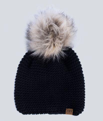 CARLOTTA HAT, BLACK