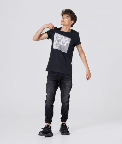 MILTON T-SHIRT, BLACK
