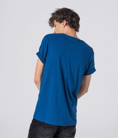 MILTON T-SHIRT, BLUE