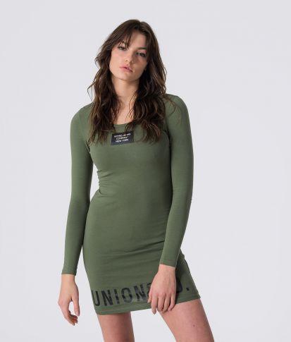 ARIN DRESS, KHAKI