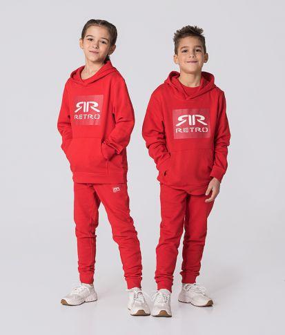 KID HOODIE, RED