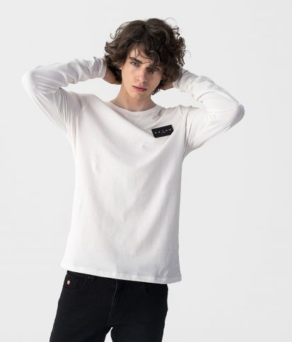 SUPERSONIC LONG L.S.TOP, WHITE