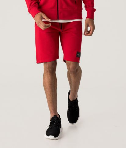 SUPERSONIC SHORTS JOGGING BOTTOM, RED