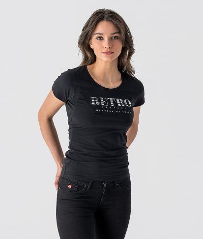 GENA T-SHIRT, BLACK