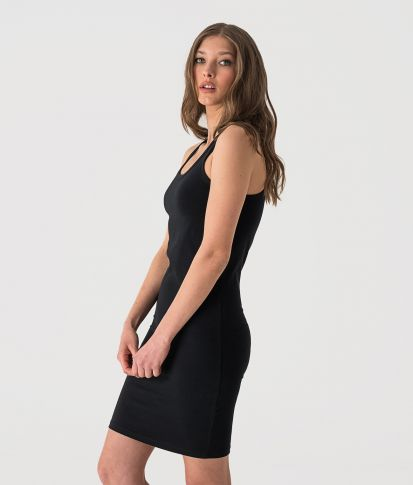 AMAYA DRESS, BLACK