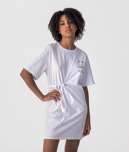 ETTA A DRESS, WHITE