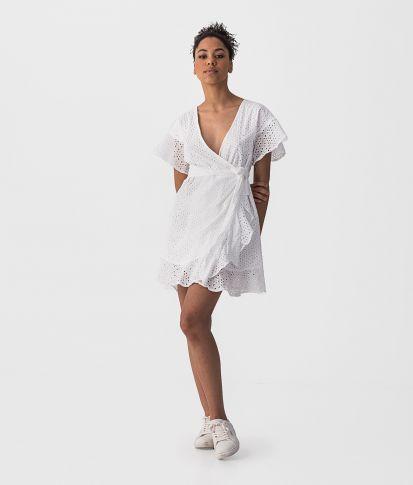 BELLEZZA DRESS, WHITE