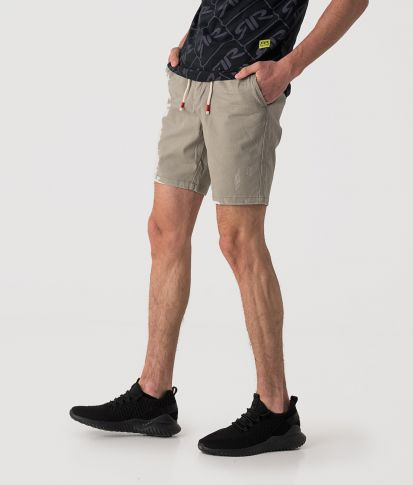 DEXTER SHORTS, LIGHT GREY