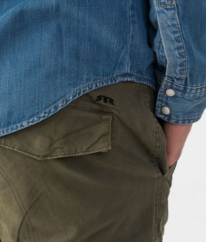 HUNTER SHORTS, KHAKI