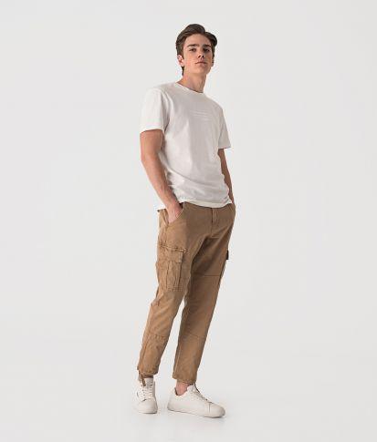 HUNTER PANTS PANTS, BEIGE
