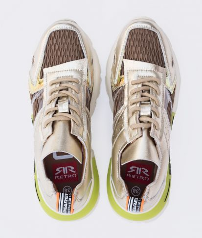 JODY SNEAKERS, GOLD