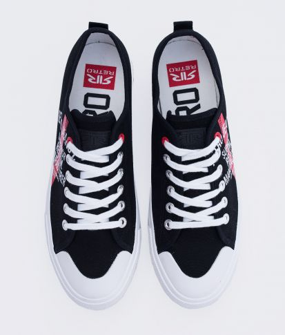 CLAXTON 21 SNEAKERS, BLACK