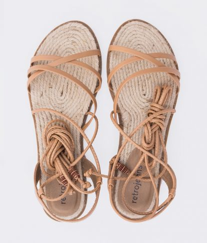 ELIZA SANDAL, LIGHT BROWN