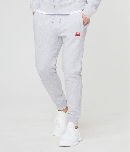 EDON PANTS JOGGING TOP, GREY MELANGE