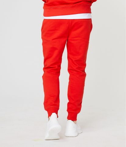 EDON PANTS JOGGING TOP, RED