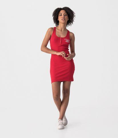 ROSABELLA DRESS, RED