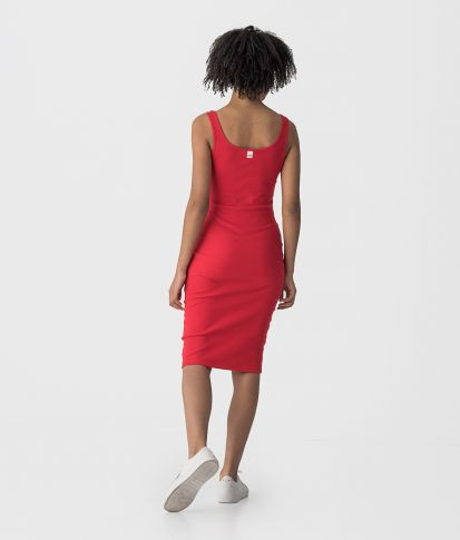SABINA DRESS, RED