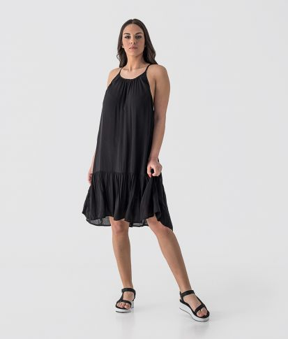 CALLIOPE DRESS, BLACK