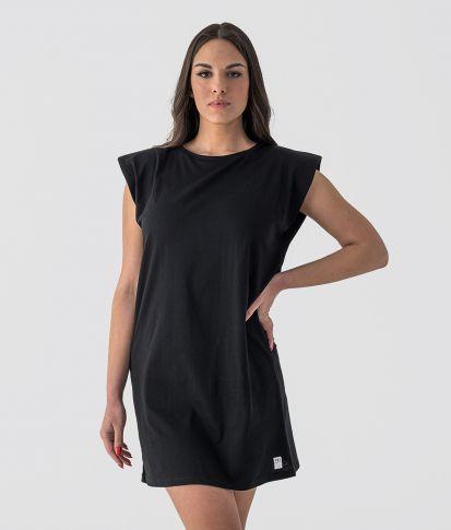 KIELO D DRESS, BLACK