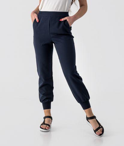 SARA PANTS, BLUE BLACK