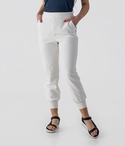 SARA PANTS, WHITE