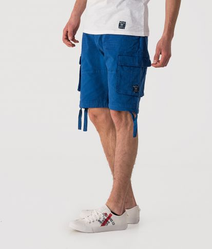 KINTARO SHORTS, DARK BLUE