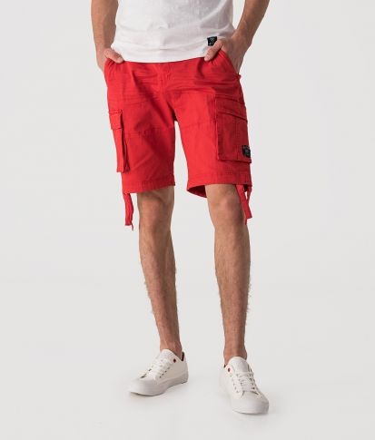 KINTARO SHORTS, RED