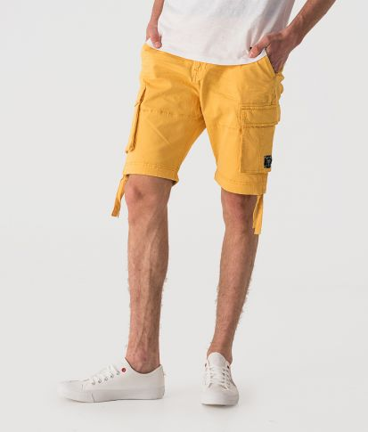 KINTARO SHORTS, YELLOW