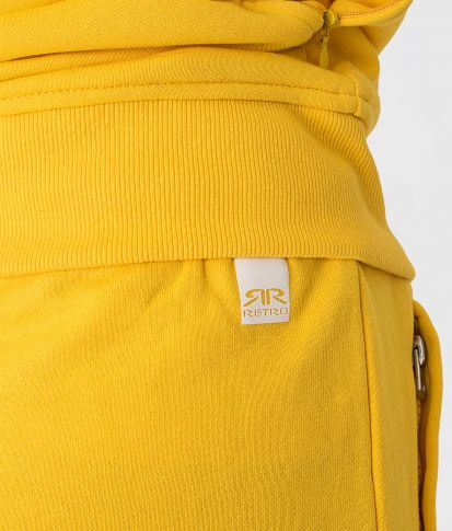 ROSELYN SHORT JOGGING BOTTOM, OCHRE