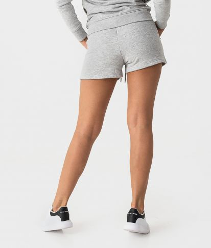 ROSELYN SHORT JOGGING BOTTOM, GREY MELAN