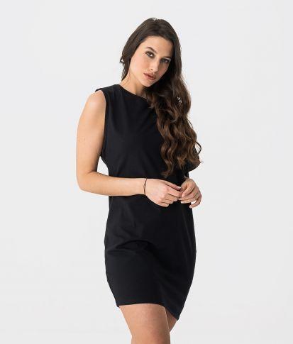SAPPHO DRESS, BLACK
