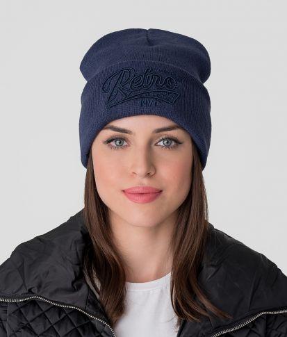 BRIELLE HAT, DARK BLUE