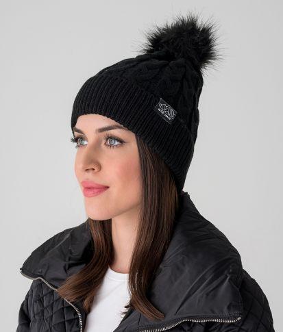 ZOEY HAT, BLACK