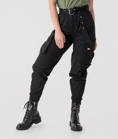 REBECA PANTS, BLACK