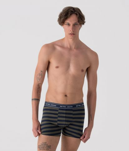 HAROLD STRIPES PACK ONE UNDERWEAR, MIXED