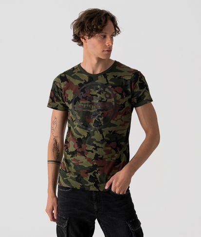 ETNA T-SHIRT, CAMOUFLAGE