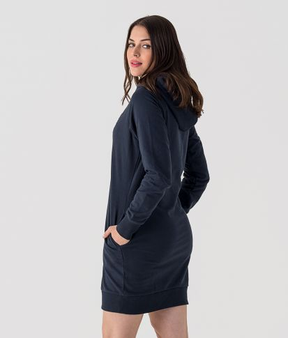 ISABELLA D DRESS, DARK BLUE
