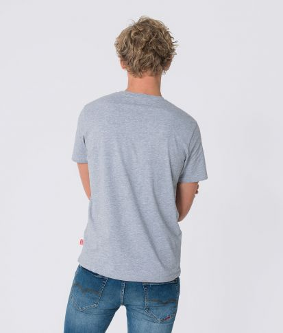 CHIEF T-SHIRT, GRAY MELANGE