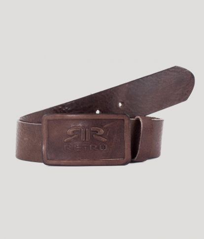 EDWIN BELT, DARK BROWN
