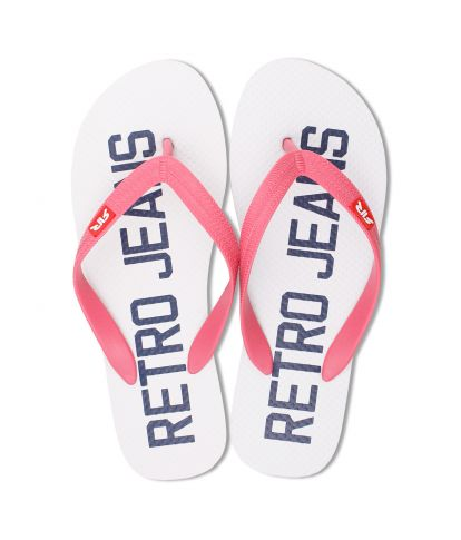 SEABOARD COLOR FLIP-FLOP, WHITE