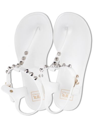 SHINNY RIVET 17 FLIP-FLOP, WHITE