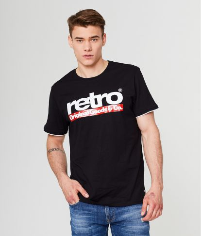 OTTO T-SHIRT, BLACK