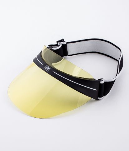 SHIELD SUNGLASSES, YELLOW