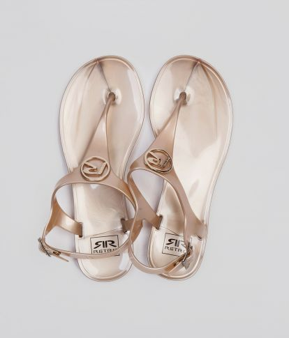 LILIESE FLIP-FLOP, ROSE GOLD