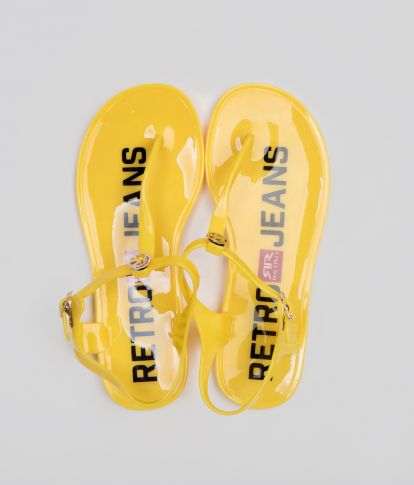 SHINNY 19 FLIP-FLOP, YELLOW