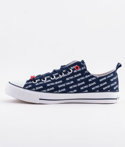 CLAXTON OVER 19 SNEAKERS, NAVY